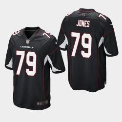 NFL Draft Arizona Cardinals 79 Josh Jones jeu Jersey Hommes - Noir