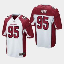 Arizona Cardinals 95 Leki Fotu Jersey Projet de NFL Hommes - Blanc