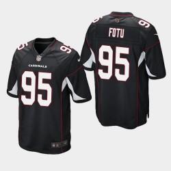 NFL Draft Arizona Cardinals 95 Leki Fotu jeu Jersey hommes - Noir