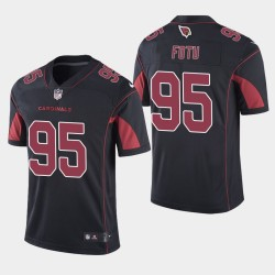 NFL Draft Arizona Cardinals 95 Leki Fotu Limited Jersey Men - Noir