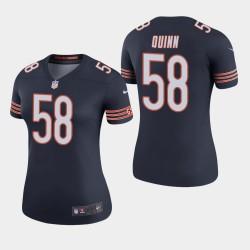 Bears Robert Quinn couleur Rush Legend Jersey - Marine