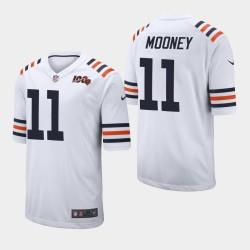 NFL Draft Bears de Chicago 11 Darnell Mooney Maillot Homme - Blanc