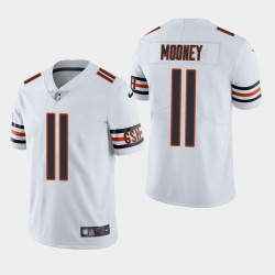 NFL Draft Chicago Bears 11 Darnell Mooney Vapor Limited Jersey Homme - Blanc