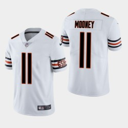 Chicago Bears 11 Darnell Mooney NFL Draft Vapor limitée Throwback Jersey Hommes - Blanc