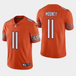 NFL Draft Bears de Chicago 11 Darnell Mooney vapeur Limited Jersey Men - Orange