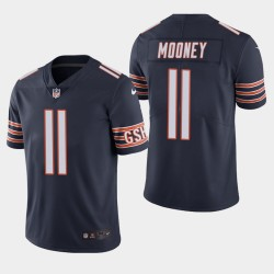 Chicago Bears 11 Darnell Mooney NFL Draft couleur Rush Limited Jersey hommes - Marine
