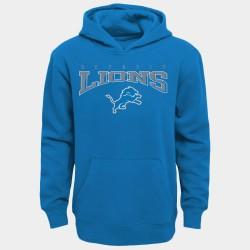Detroit Lions jeunes bleu Outerstuff à capuche en laine - bleu