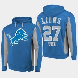 Lions Glover Quin équipe Iconic Sweat à capuche - Bleu