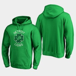 Detroit Lions St. Patrick Day Chance Tradition Sweat à capuche pour homme - vert