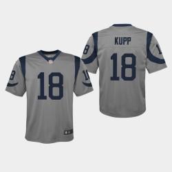 Rams Cooper Kupp Inversé jeu Jersey - Gris