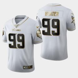 Vikings Danielle Hunter 100ème Saison Golden Edition Jersey - Blanc