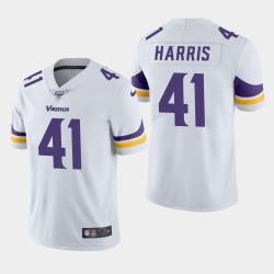 Vikings hommes Minnesota 41 Anthony Harris 100ème saison de vapeur Limited Jersey - Blanc