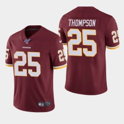 Chris Thompson Redskins 100e saison de vapeur Limited Jersey - Bourgogne
