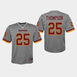 Jeunes Redskins de Washington 25 Chris Thompson Inversé jeu Jersey - Gris