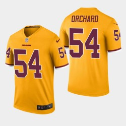 Redskins Nate Orchard couleur Rush Legend Jersey - Or