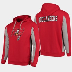 Fanatics Branded Hommes Tampa Bay Buccaneers équipe Iconic Sweat à capuche - Rouge