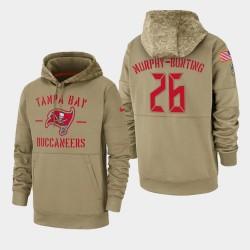 Tampa Bay Buccaneers Sean Murphy-Bunting 2019 Salut au service Sideline Therma Hoodie - Tan