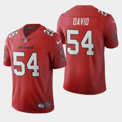 Tampa Bay Buccaneers 54 hommes Lavonte David 2020 Vapor Limited Jersey - Rouge