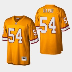 Tampa Bay Buccaneers 54 hommes Lavonte David Legs Replica Jersey orange