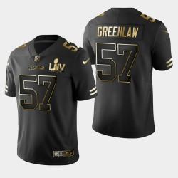 San Francisco 49ers 57 hommes Dre Greenlaw Super Bowl LIV Golden Edition Jersey - Noir