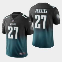 Philadelphia Eagles 27 Malcolm Jenkins couleur crash dégradé minuit maillot vert hommes