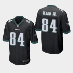 Eagles de Philadelphie hommes 84 Greg Ward Jr. jeu Jersey - Noir