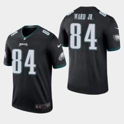 Eagles de Philadelphie hommes 84 Greg Ward Jr. couleur Rush Legend Jersey - Noir