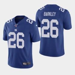 Saquon Barkley Giants 100ème saison de vapeur Limited Jersey - Royale