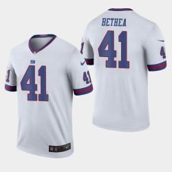 Giants Antoine Bethea couleur Rush Légende Jersey - Blanc