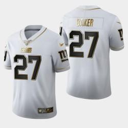 Giants Deandre Baker 100ème Saison Golden Edition Jersey - Blanc