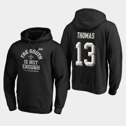 Saints Michael Thomas 2019 NFC Division Sud Champions couverture Deux Sweat à capuche - Noir