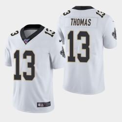 Hommes New Orleans Saints 13 Michael Thomas 100ème saison de vapeur Limited Jersey - Blanc