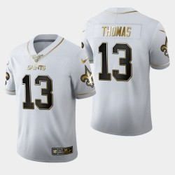 Saints Michael Thomas 100ème Saison Golden Edition Jersey - Blanc