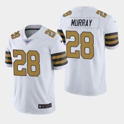 La Nouvelle-Orléans Saints hommes 28 Latavius Murray 100ème Couleur Saison Rush Jersey - Blanc