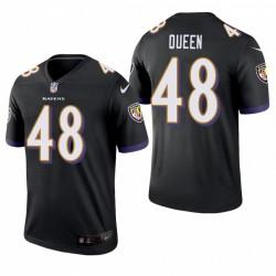 Patrick Reine 48 Baltimore Ravens Noir Maillot NFL Draft hommes