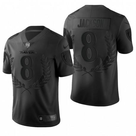 Ravens 8 Lamar Jackson NFL MVP Noir Limited Edition Maillot