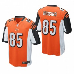 T Higgins 85 Cincinnati Bengals orange jeu Maillot NFL Draft