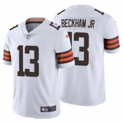 Odell Beckham Jr 13 Cleveland Browns Vapor Maillot blanc limitée