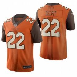 Grant Delpit 22 Cleveland Browns Ville Édition Limitée Vapor Maillot - Brown