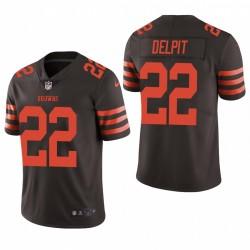 Grant Delpit Cleveland Browns Brown Couleur Rush limitée Maillot NFL Draft
