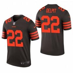 Grant Delpit Cleveland Browns Brown Couleur Rush Legend Maillot NFL Draft