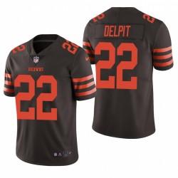 Grant Delpit Cleveland Browns Brown Vapor limitée Maillot NFL Draft