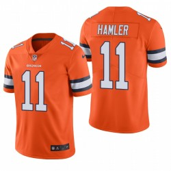 K.J. hommes Hamler 11 Denver Broncos orange Maillot NFL Draft