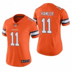 K.J. des femmes Hamler 11 Denver Broncos orange Maillot NFL Draft