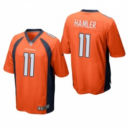 K.J. Hamler 11 Denver Broncos orange jeu Maillot NFL Draft