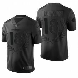 Broncos 18 Peyton Manning NFL MVP Noir Limitée Maillot