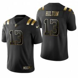 T.Y. Hilton Indianapolis Colts d'Or Limitée Maillot - Noir