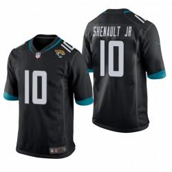 Laviska Shenault Jr. 10 Jaguars noir NFL Draft jeu Maillot