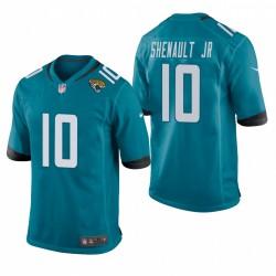Laviska Shenault Jr. 10 Jaguars Teal NFL Draft jeu Maillot
