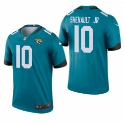 Laviska Shenault Jr. Jacksonville Jaguars Teal couleur Rush Legend Maillot NFL Draft